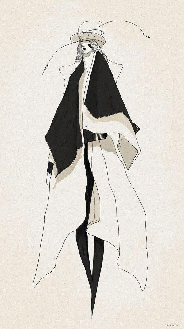 Photo of #illustrator #fashion #velwyn #yossyFashion Illustrator: Velwyn Yossy