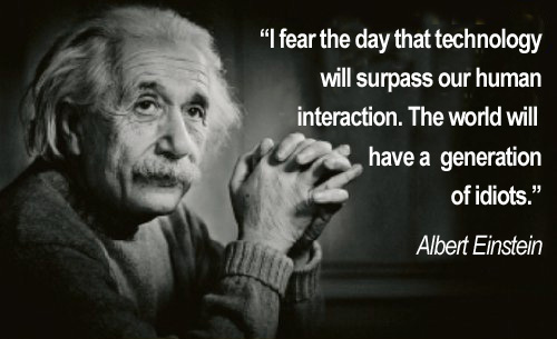Photo of albert einstein quote