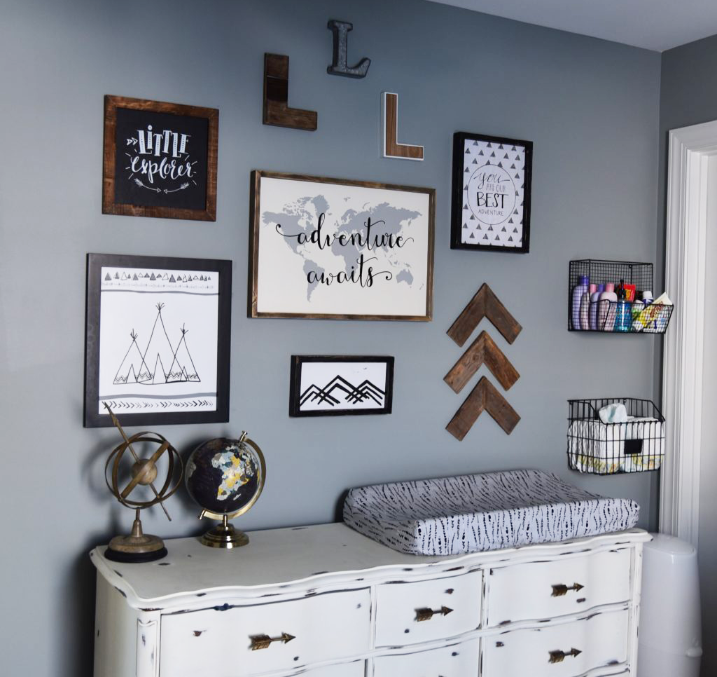 Rooms and parties we love this week adventure awaits for Adventure bedroom ideas