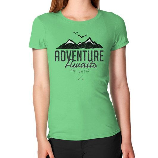 Adventure Awaits Women's T-Shirt