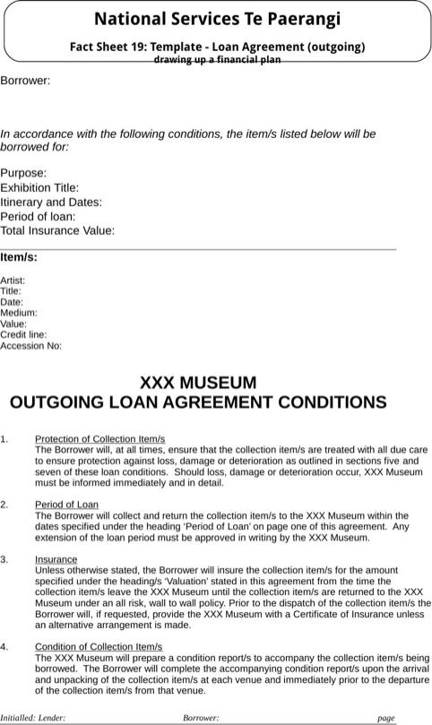 Loan agreement template templatesforms pinterest loan agreement template pronofoot35fo Image collections