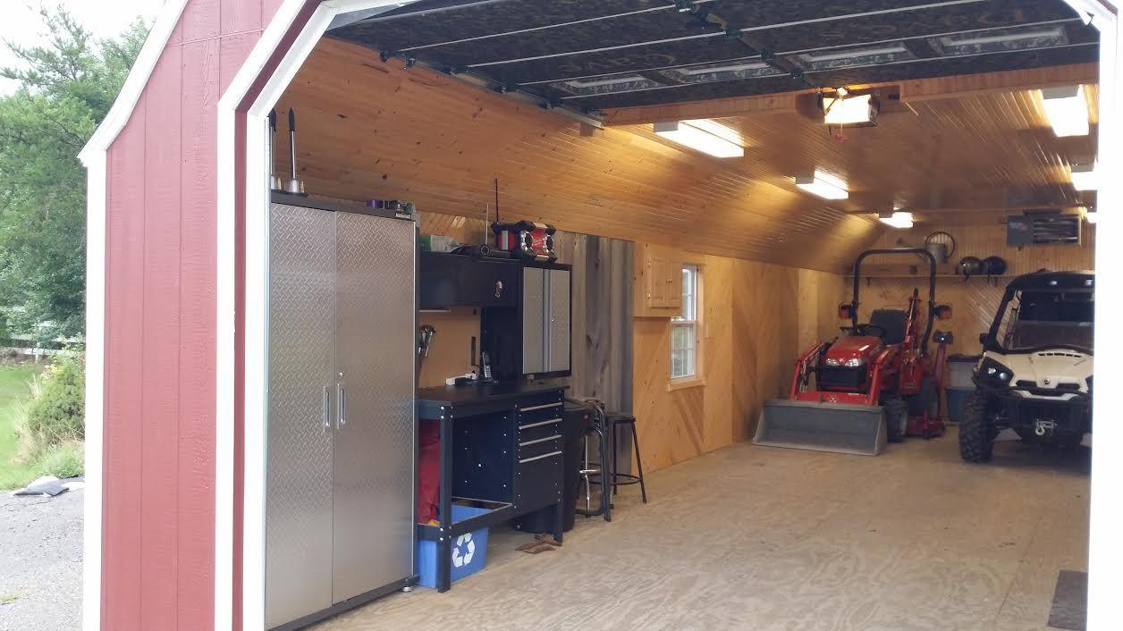 14 u0027 x 40 u0027 portable garage delivered fully assembled and remodeled