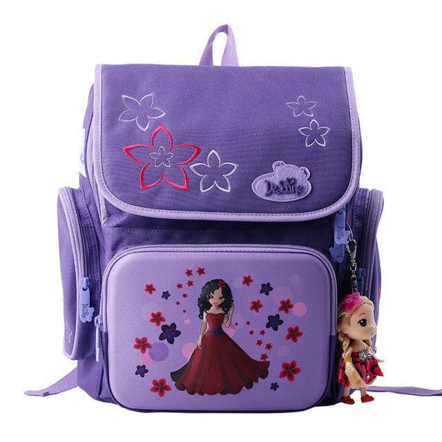 New Cartoon Bear Backpack School Satchel Children School Bags Orthopedic Waterproof Backpacks Girls School Backpacks