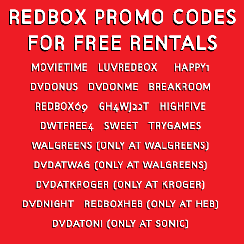 Free Redbox Codes: Plus Tips To Get More (2019 Update