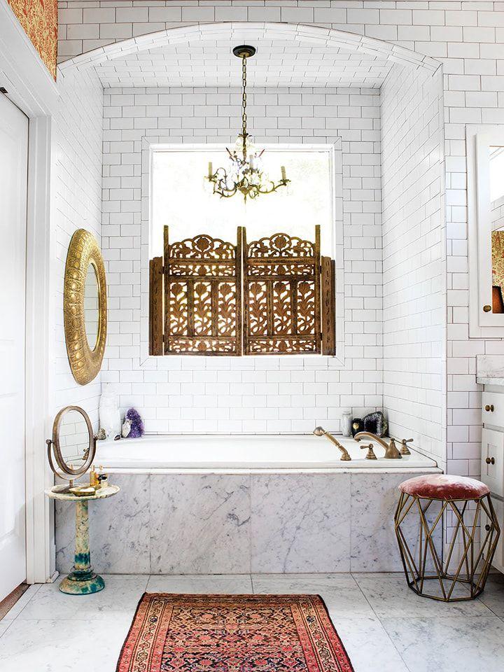 9 Ways to Refresh the Humble White Subway Bathroom Tile