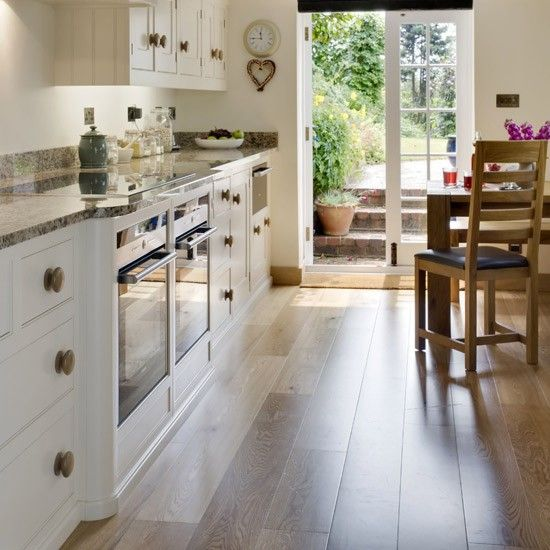 New Kitchen Flooring Ideas: Galley Kitchen Design, Kitchen