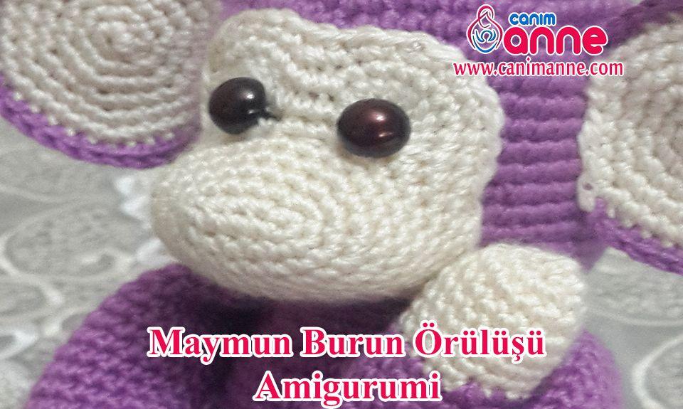 Amigurumi Ahu Bebek Örülüşü - Canım Anne - Örgü Modelleri, Yemek ... | 575x960