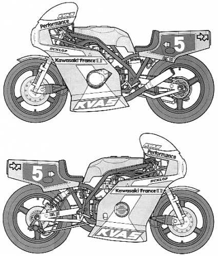 Kawasaki kr1000f endurance racer blueprint cafe racer pinterest kawasaki kr1000f endurance racer blueprint malvernweather Images