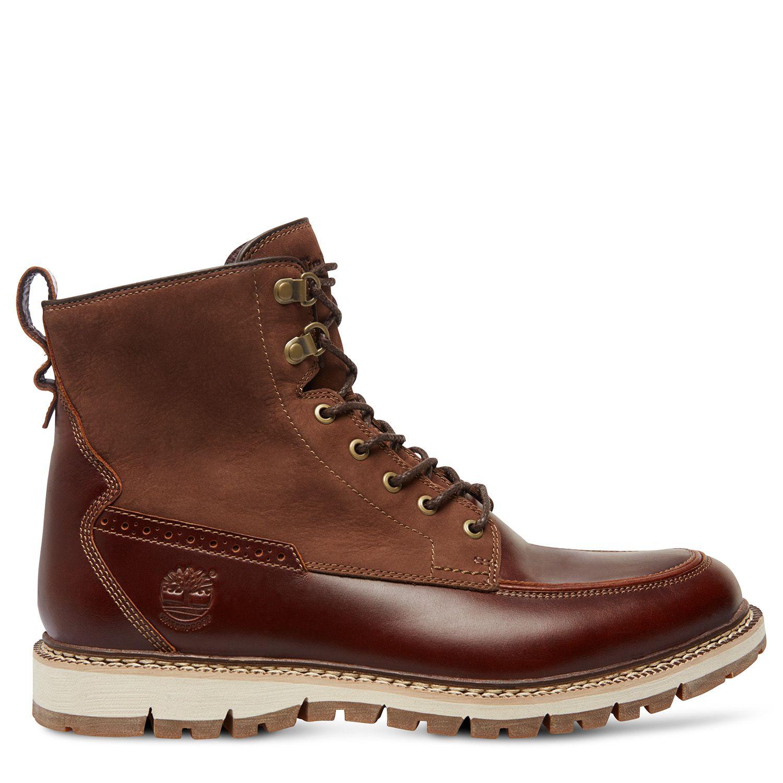 Timberland - Men's Britton Hill Mock Toe Waterproof Boot