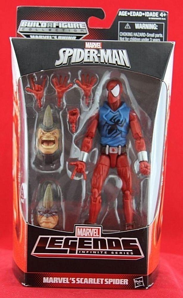 Scarlet Spider Spider Man Marvel Legends Infinite 6 Action Figure