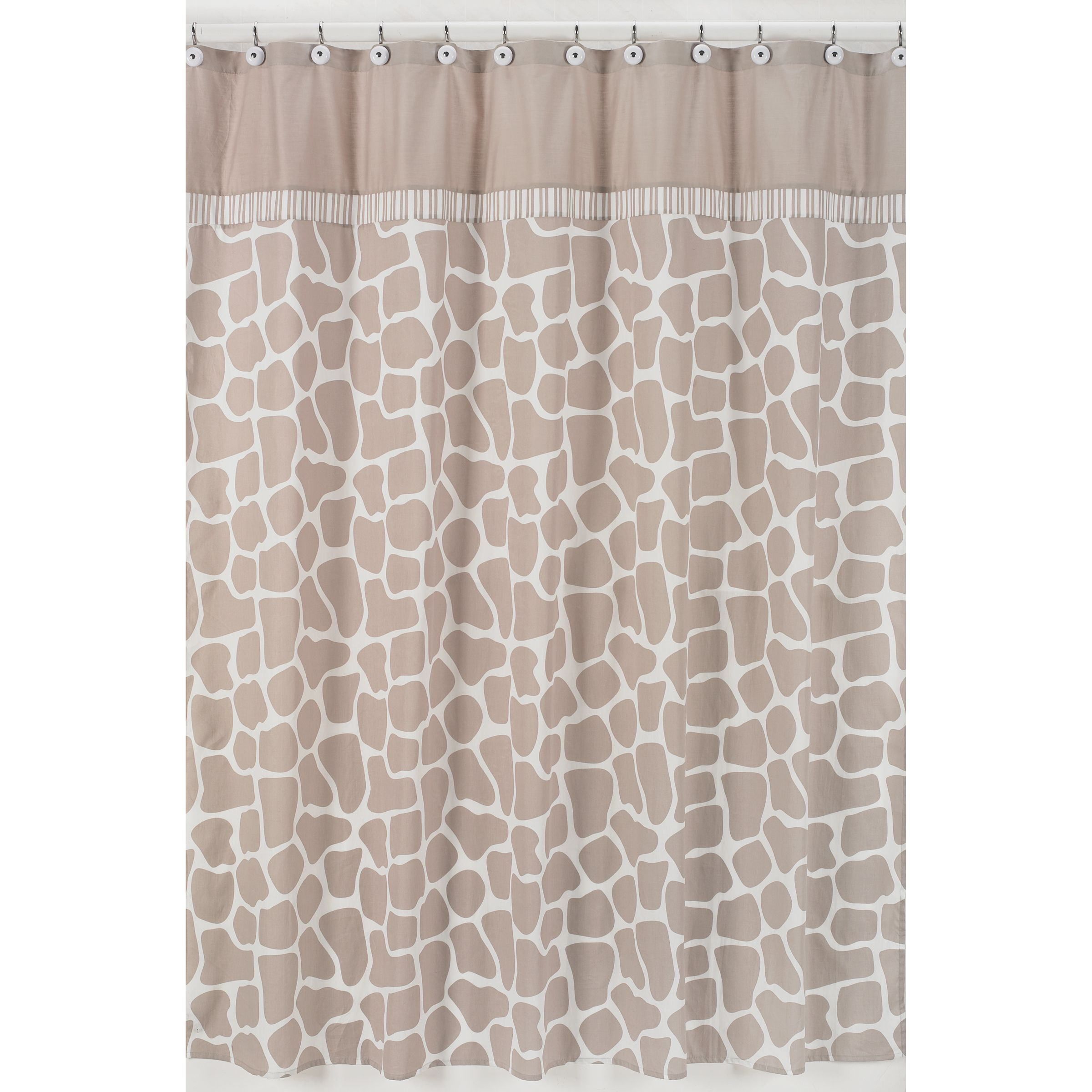 Sweet Jojo Designs Giraffe Neutral Shower Curtain By Sweet Jojo Designs