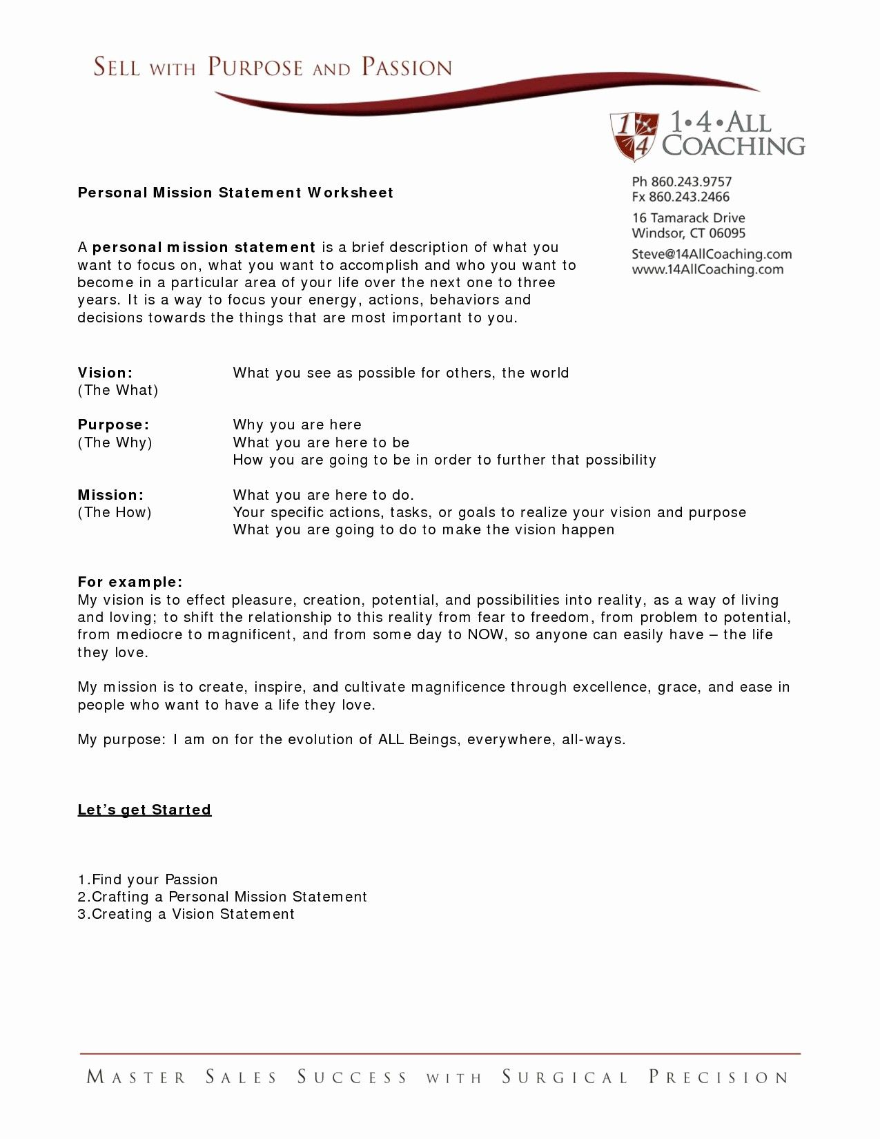 Non Profit Mission Statement Template Beautiful Vision Statement For Early Chil Mission Statement Examples Mission Statement Template Vision Statement Examples