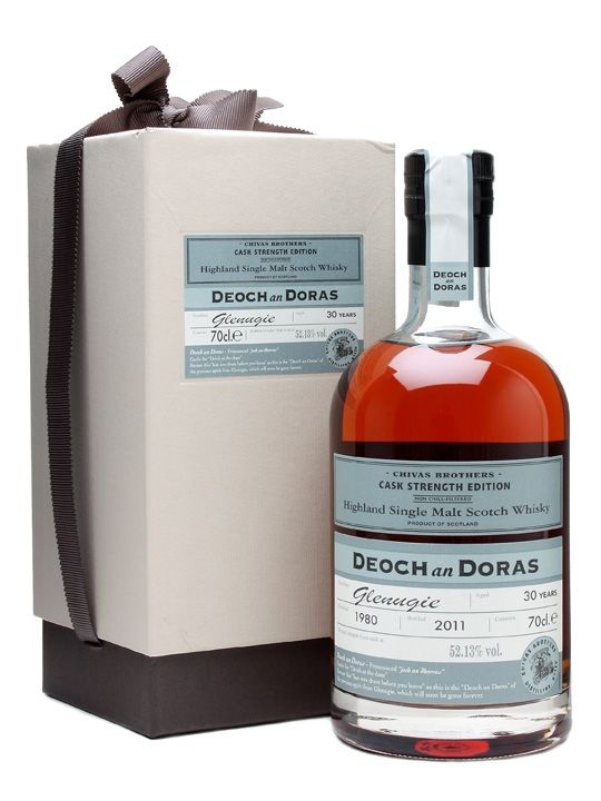 Glenugie 1980 / 30 Year Old / Deoch an Doras Scotch Whisky : The Whisky Exchange