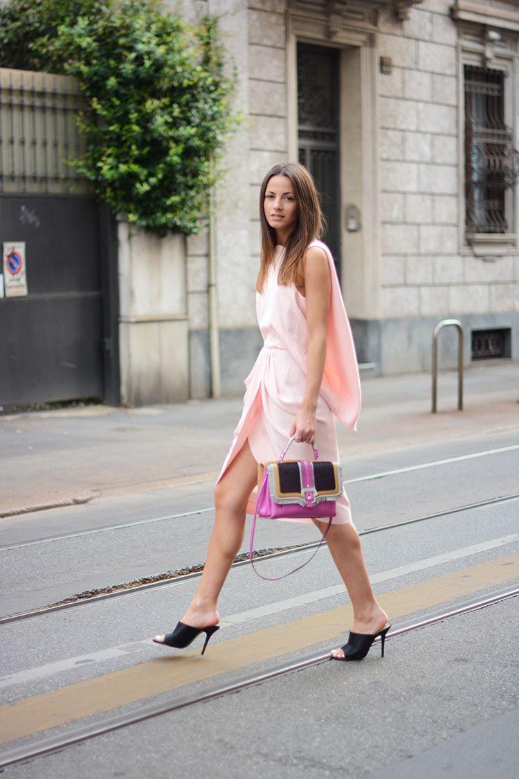 Fashionvibe » Zina Charkoplia Fashion Blog » The Balenciaga Dress