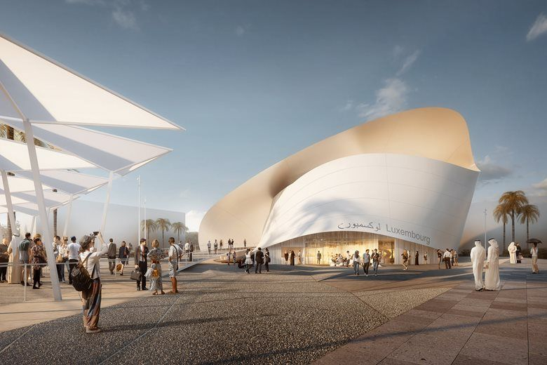 Luxembourg Pavilion At Expo 2020 Dubai Picture Gallery With Images