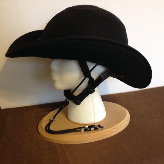 1310beb2d9e4d Equestrian Helmet Cover Cowboy Hat for Drill by RodeAppleHats Horse Riding  Helmets