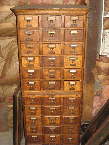 Cabinet Library Bureau Sole Makers