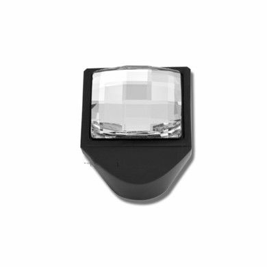 Atlas Homewares Pave & Crystal Collection Square Inset Crystal Cabinet Knob