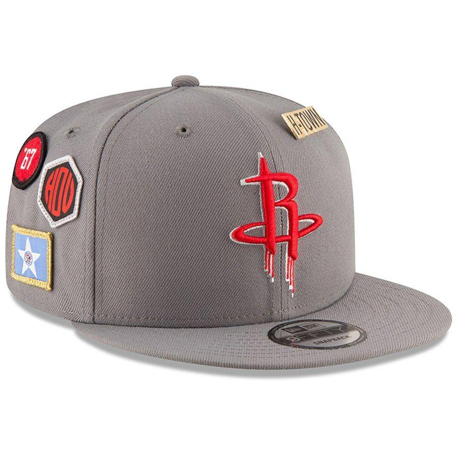 cf0a8d7c Men's Houston Rockets New Era Gray 2018 NBA Draft 9FIFTY Adjustable Hat,  Your Price: $35.99