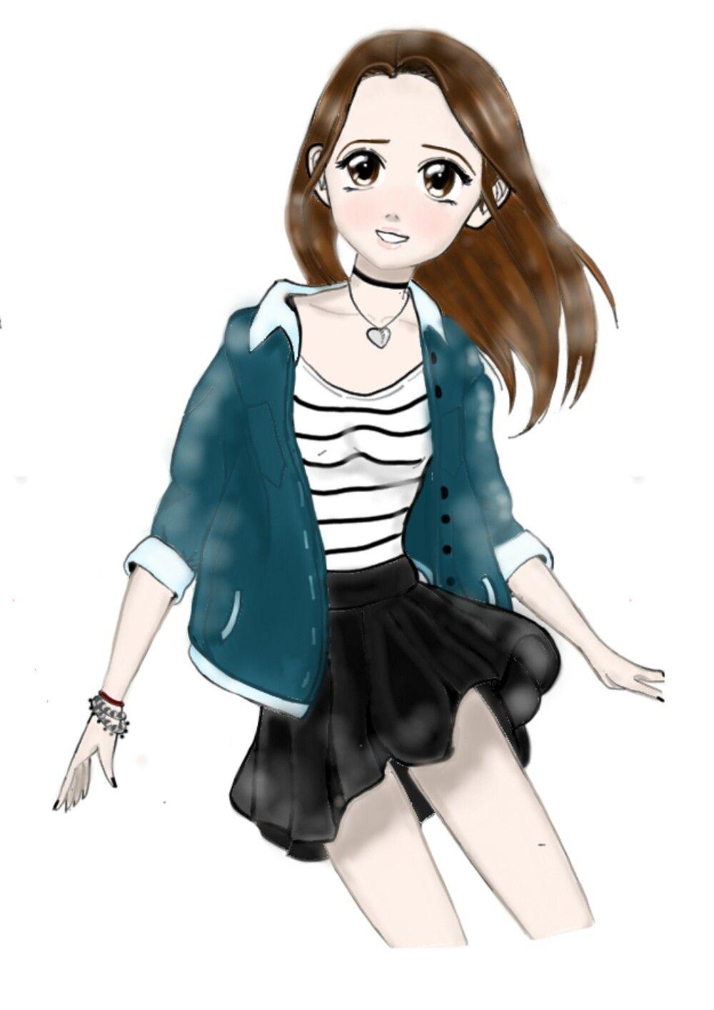 Criado por Nina feito no App de Desenhar. Desenhos