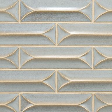 Gorgeous dimensional tile from Ann Sacks. sometimes things are beautiful  enough that it doesn'