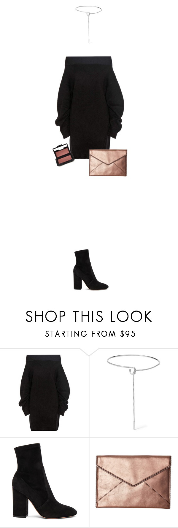 """✖️/ 31.10"" by denifreebairn ❤ liked on Polyvore featuring Opening Ceremony, Eddie Borgo, Valentino, Rebecca Minkoff and NARS Cosmetics"