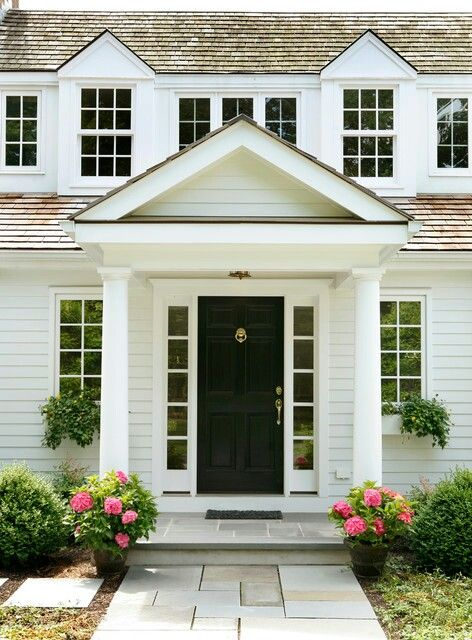 Pin By Krista Schwartz Indicia On Architecture Exterior Details House Exterior Traditional Front Doors House Entrance