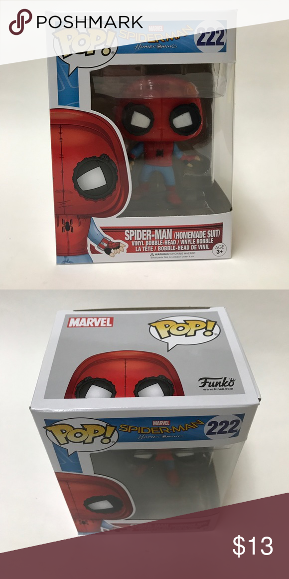 Bobble Head Funko POP Spider Man Homecoming Homemade Suit