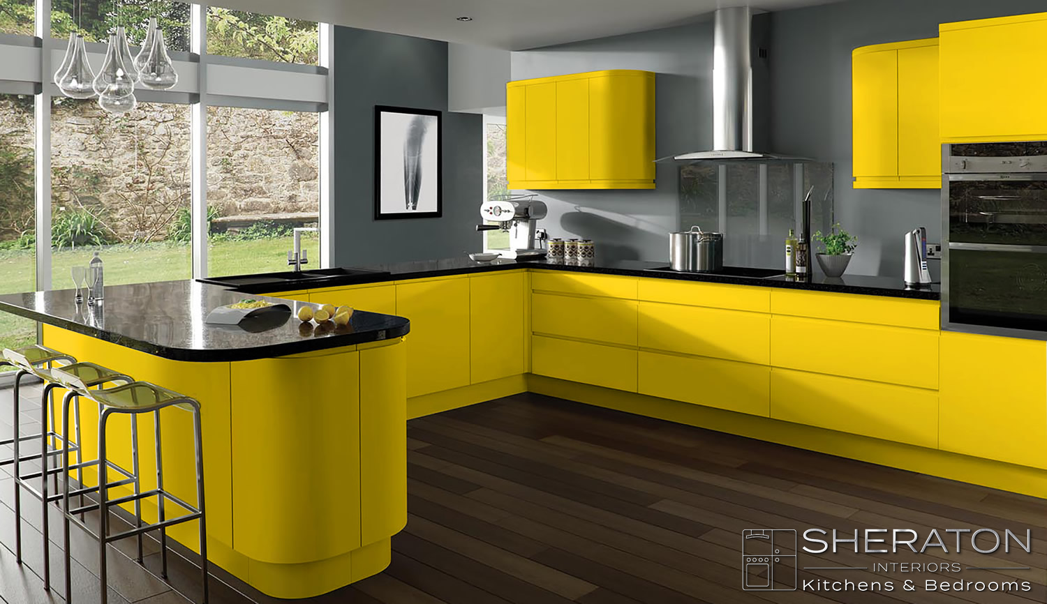 free kitchen design home visit yellow creates happiness and optimism browse 577