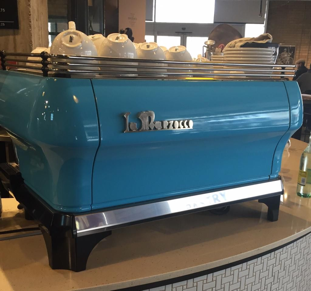 LA MARZOCCO Home espresso machine, Coffee shop, Cafe design