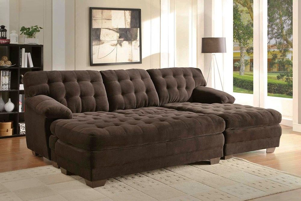 Sofa Sofa With Chaise And Oversized Ottoman Sectional Sofa With Chaise Sectional Sofa Microfiber Sectional Sofa