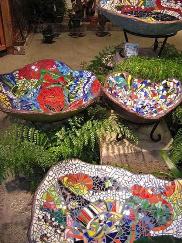 12 idées avec de la mosaïque pour embellir son jardin | La ...