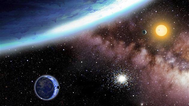 Resultado de imagen de Bellos mundos habitables fuera del sistema solar