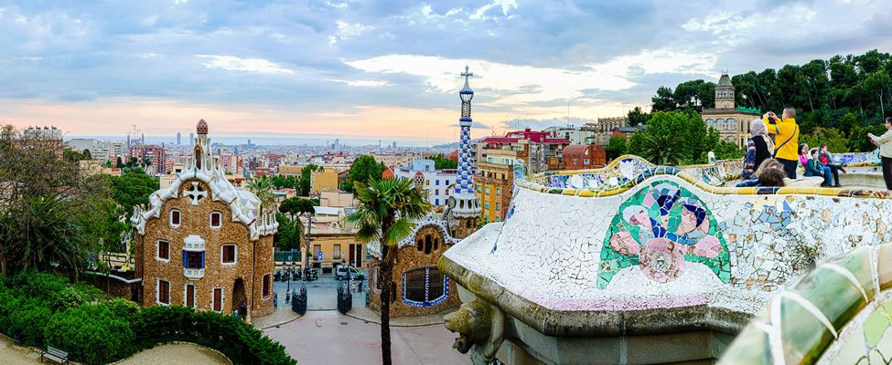 Park Guell and Barcelona