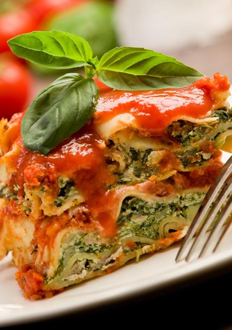 Lean Turkey and Spinach Lasagna