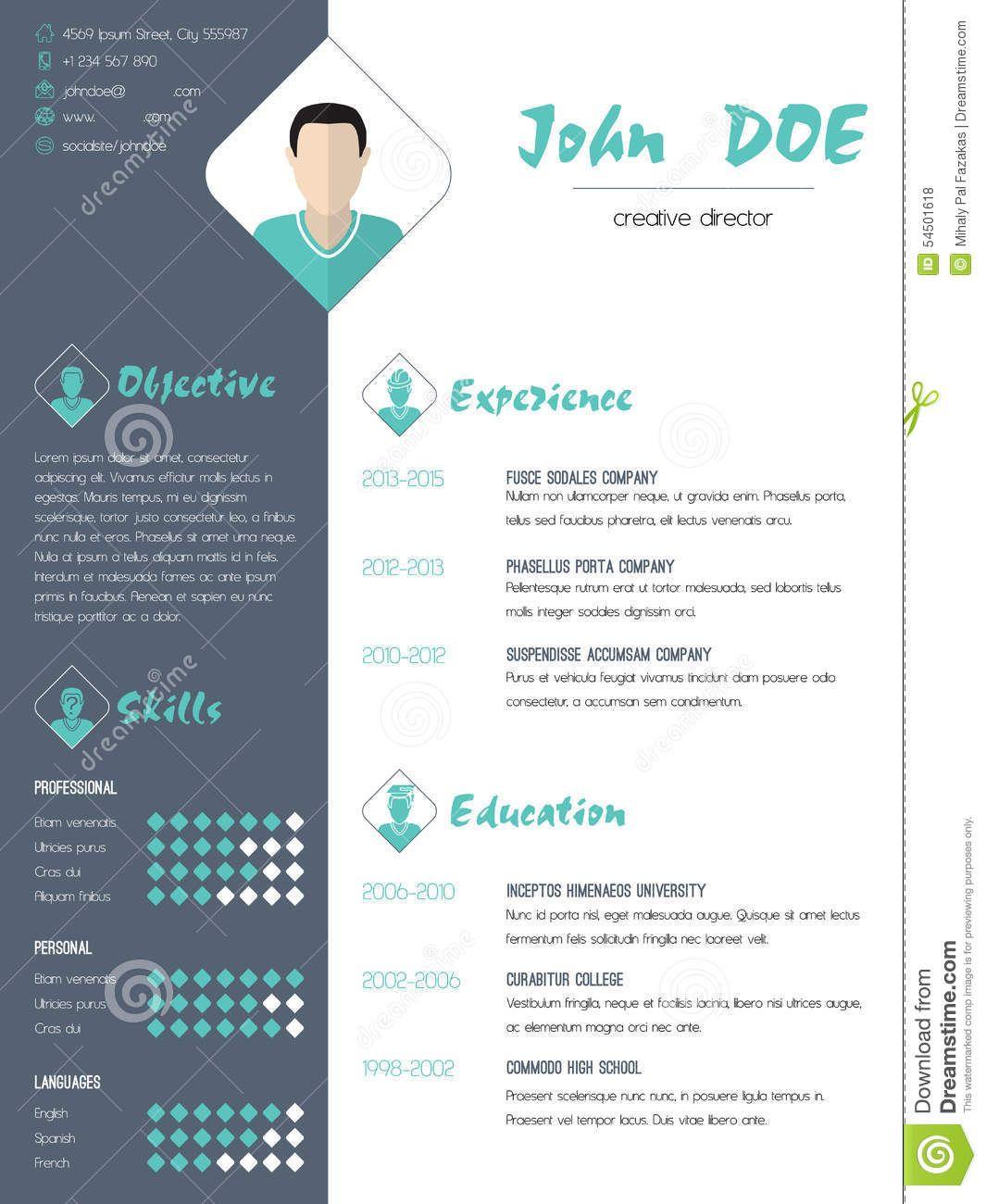 modern resume - Google keresés | Resume | Pinterest | Modern resume ...