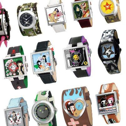 Don't forget to spring your watch forward for Daylight Saving Time this Sunday! And since it is Throwback Thursday, does anybody remember our tokidoki watches from the past?