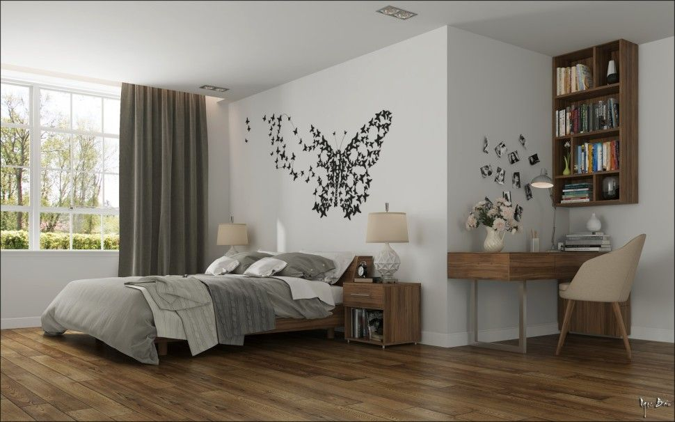 Interiorcontemporary interior design concept for small house modern master bedroom lighting decor nightstand furniture