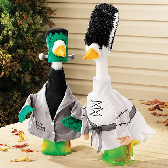 My Lawn Geese Halloween Costumes Have Been Ordered