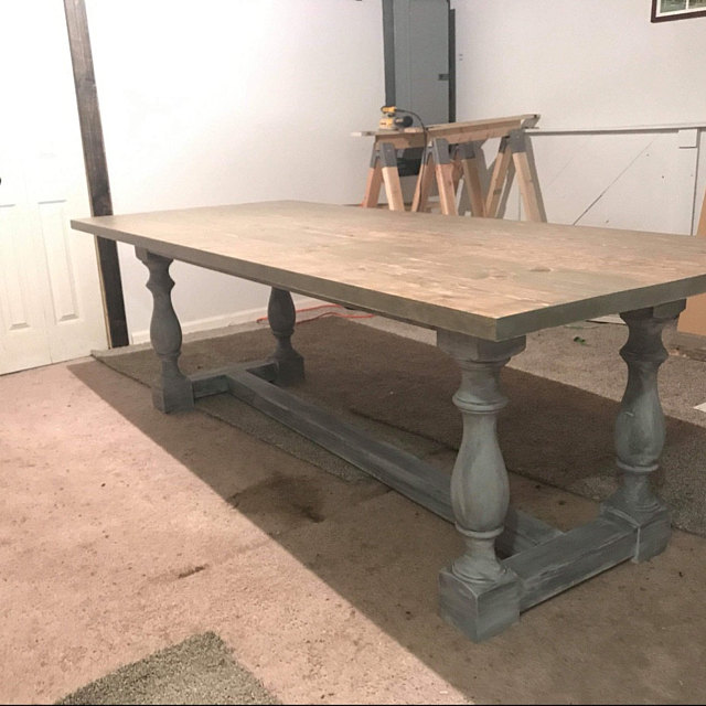 29 Unfinished Monastery Dining Table Legs Console Table Etsy Dining Table Cheap Dining Room Table Antique Dining Tables