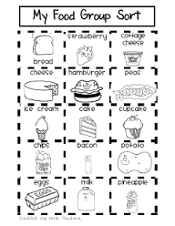 Image Result For Nutrition For Kids Food Groups Color Pages Group Meals Nutrition Activities Preschool Food