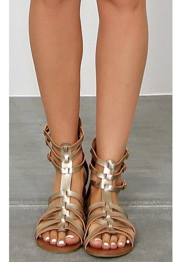 Egyptian Sun Gladiator Sandals