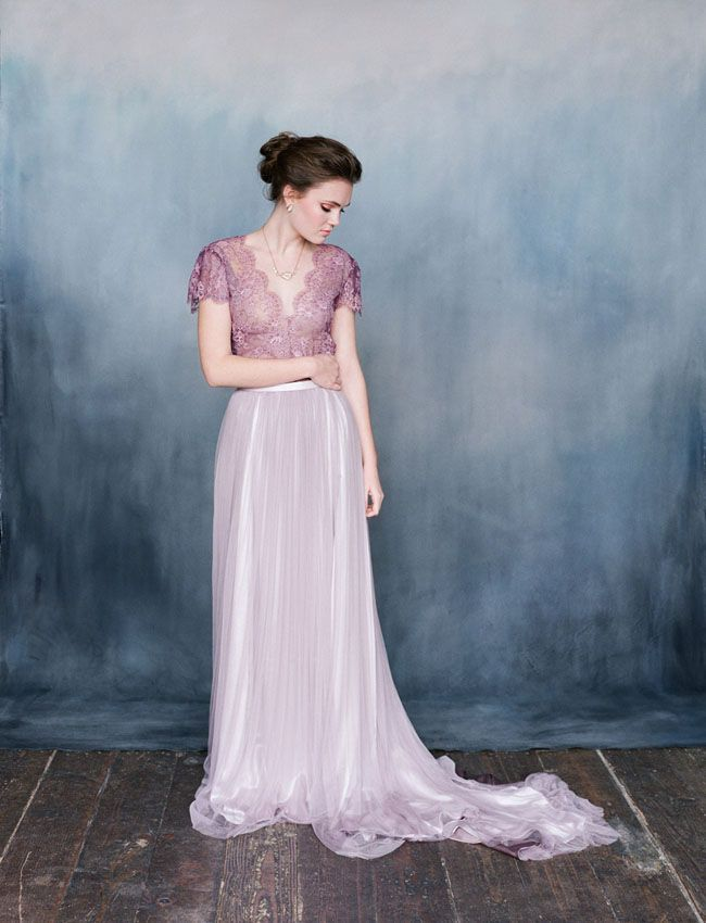 Winter Geode Wedding Inspiration Featuring Emily Riggs Bridal ...