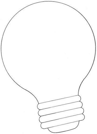 Dibujos De Bombillas Para Colorear Y Pintar 3 Color Bulb Women
