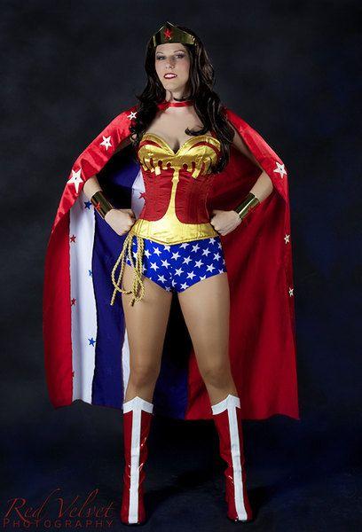 Luxury wonder woman costume-6704