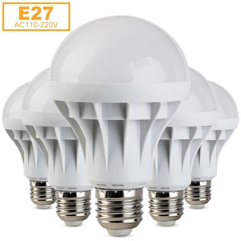 E27 Bombillas Conduziu A Lampada Smd 5730 Lampadas Led De Luz 1 W 3 W 5 W 7 W Lampada De 9 W 12 W 15 W Lampada Led E27 110 V 220 V Amp Led Bulb Light Bulb Lamp
