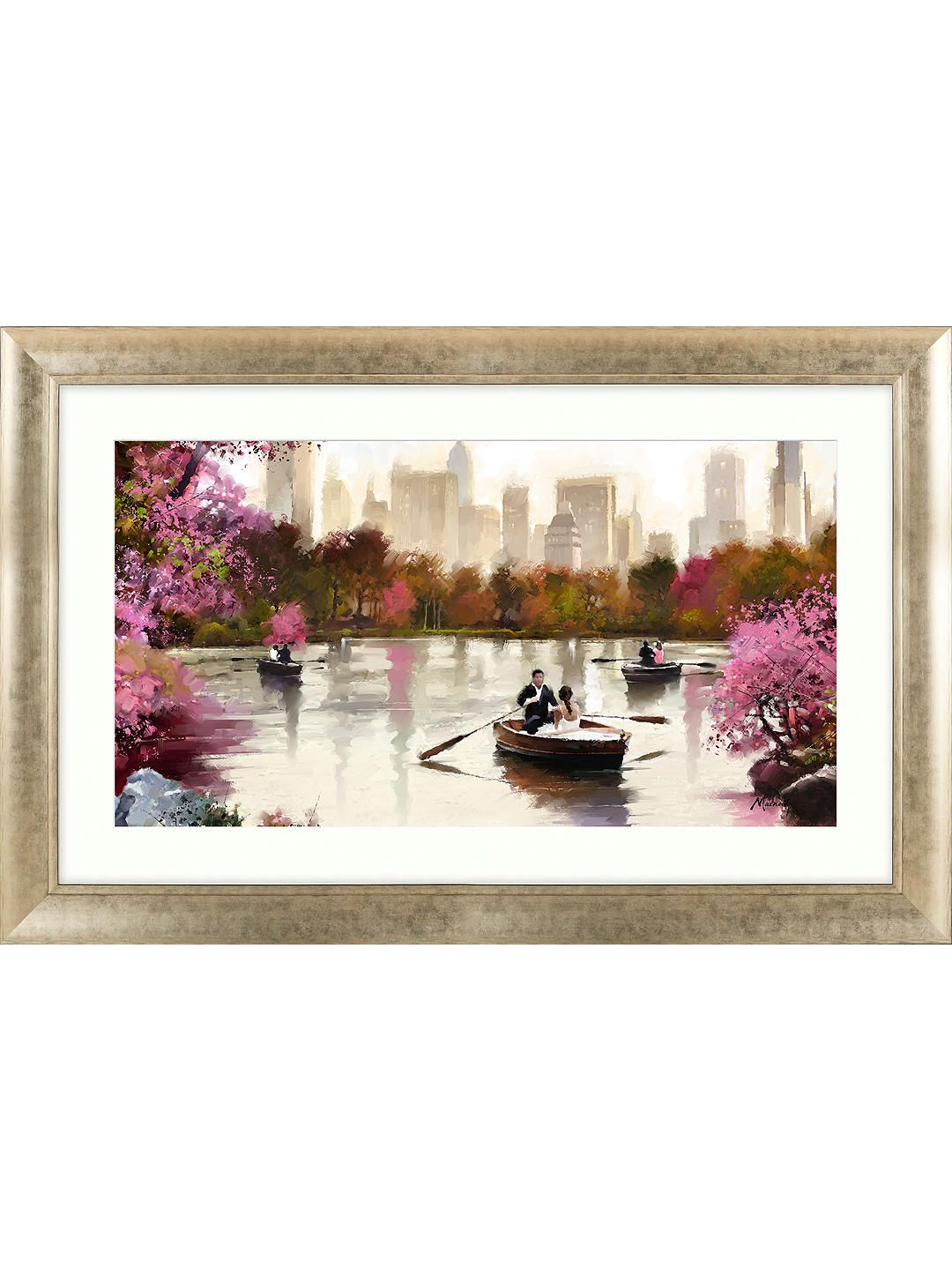 Richard Macneil New York Haze Framed Print, 112 x 72cm