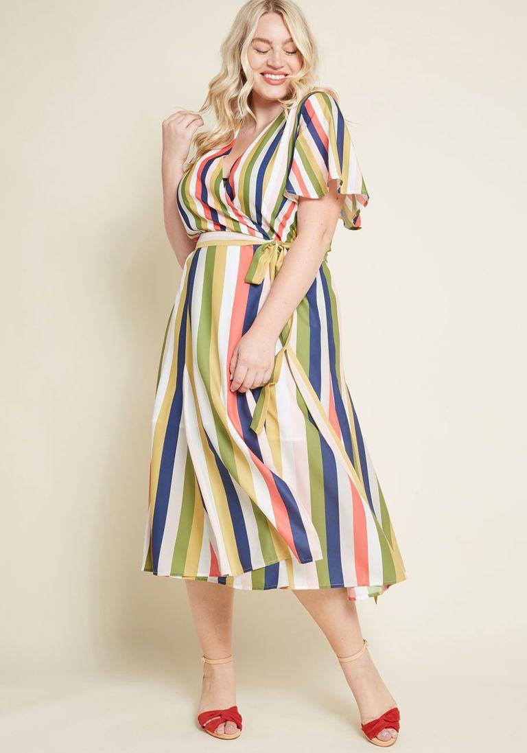 70s Plus Size Wrap Dress Wrap Dress Cute Maxi Dress Plus Size Retro Dresses [ 1097 x 768 Pixel ]