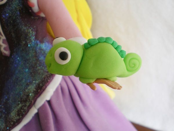 Rapunzel Birthday Cake - Pascal