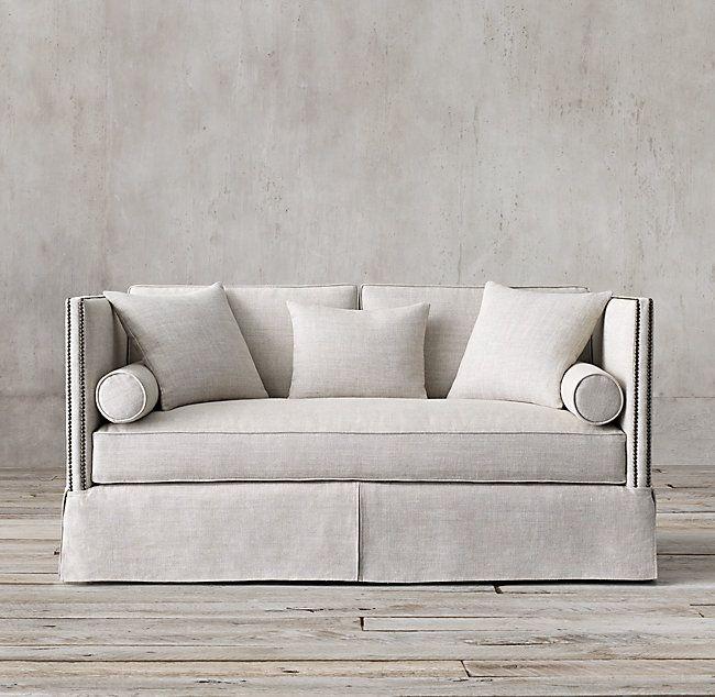 Morrison Sofa Nailhead Sofa Restoration Hardware Sofa Elegant Sofa